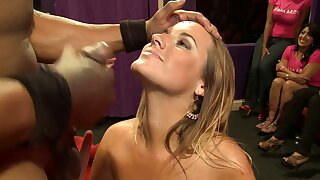 Melissa is obtaining married! Facial cumshot.